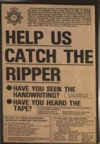 The Geordie Ripper Poster